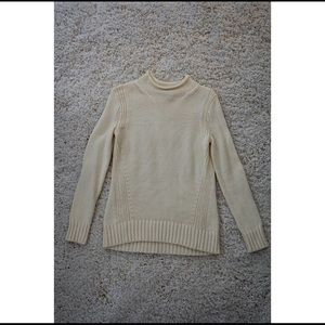 J Crew Cream Knitted Pullover